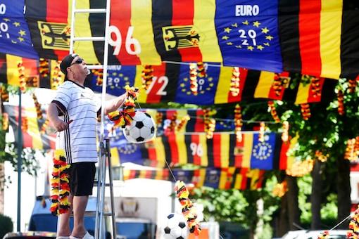 Fan in Munich (Photo Credit: AP)