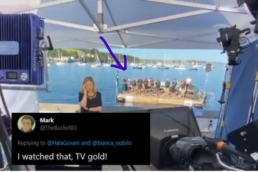 Scribe Reporting on Israel Vote Gets Hilariously Interrupted by Sea-shanty Singers on Live TV