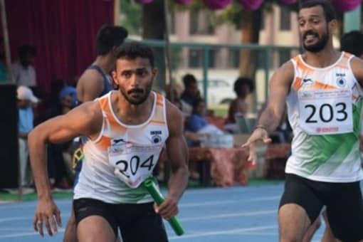 Indian 4x400m relay team (IANS)