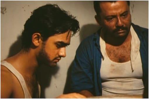 Aamir Khan, Pankaj Kapur in Raakh.