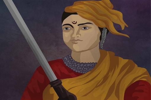 Queen of Jhansi, Rani Lakshmi Bai. Photo: Shutterstock