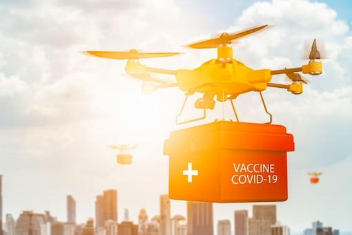 Image: Skye Air Mobility, a drone delivery tech company