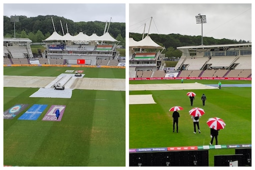The first day of the India vs New Zealand match got rained out. (BCCI PHOTO)