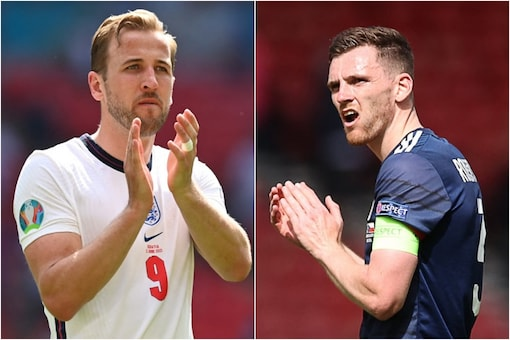 UEFA Euro 2020: England take on Scotland at the Wembley Stadium (AFP)