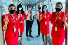 AirAsia India Operates 9 Flights With Fully Vaccinated Crew Across Multiple Metro Sectors