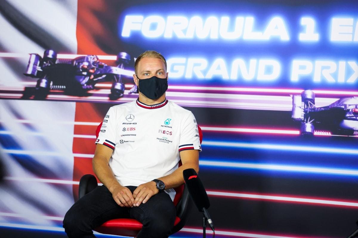 Valtteri Bottas of Mercedes Fastest in First Practice