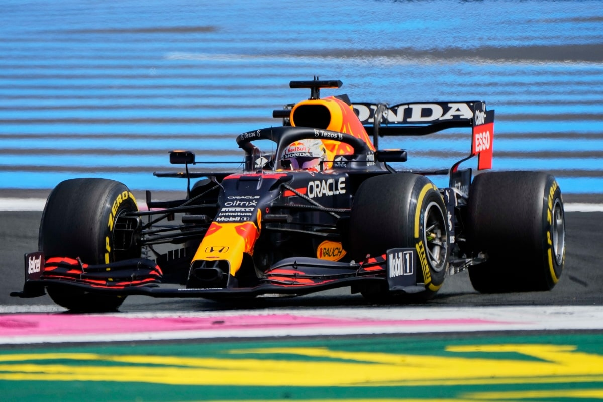Max Verstappen Fastest in Second French Grand Prix Practice