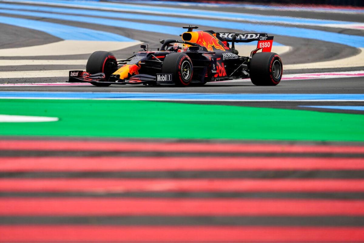 Read Bull's Max Verstappen Tops Third Practice in France