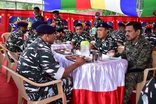 CRPF director general (DG) Kuldiep Singh visited Jammu and Kashmir's Pahalgam.