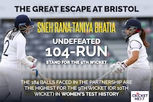 India Women vs England Women: The Great Escape - Sneh Rana & Taniya Bhatia Defy All Odds And Produce A Save For The Ages