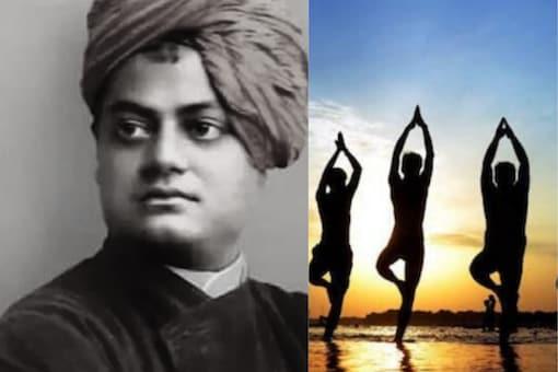 File photo of Swami Vivekananda | Yoga photo (representational) : PTI.