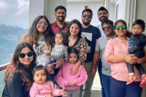 Watch: MS Dhoni Tests Shimla-Made Cricket Bat During Family Vacation