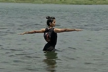MP Yoga Guru Performs in the Lap of Narmada to Drive Home Message of River Conservation
