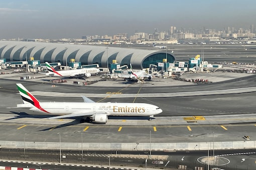 Emirates Boeing 777 as seen at the Dubai International Airport. Image for representation. (Image source: Reuters)