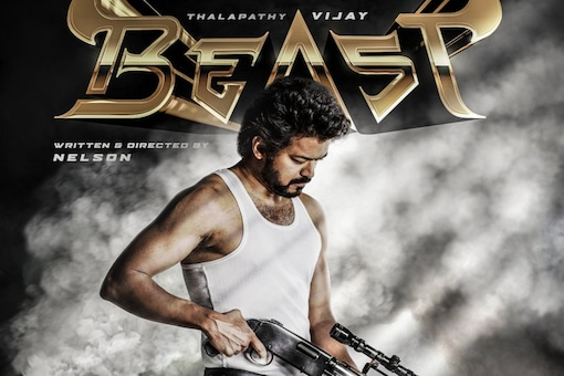 Vijay's 65th Film Titled Beast, Poster Released on Birthday Eve
