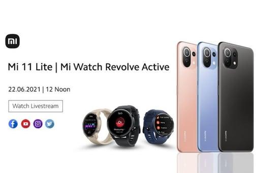 Xiaomi Mi 11 Lite and Mi Watch Evolve