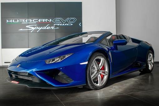 Lamborghini Huracan EVO RWD Spyder. (Image source: Lamborghini)