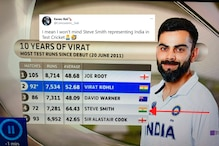 Steve Smith Indian? Bizarre 'Gaffe' During WTC Final Shows Australian Cricketer With Tricolour