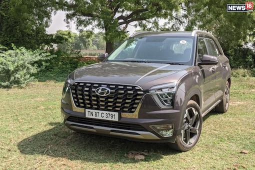 Hyundai Alcazar. (Image: Manav Sinha/News18.com)