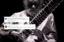 Pandit Ravi Shankar's Last Performance while on Oxygen Support Goes Viral, Warms Hearts Online