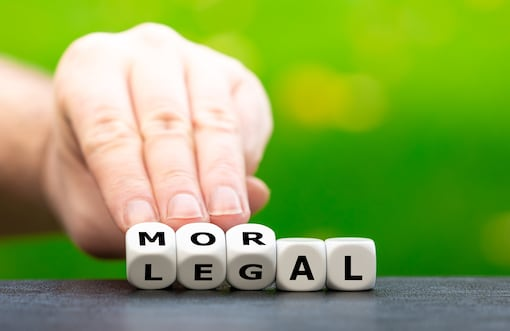 Morality and Legality: Fruits from the Same Tree?