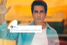 Desi Fan Asks Sonu Sood's Help to Send Kane Williamson Back to Pavilion, Actor's Response Wins Twitter