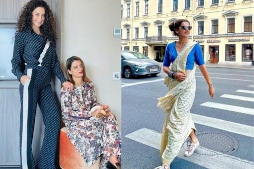 Rangoli Lashes Out At Taapsee Pannu For Copying Kangana Ranaut's Style