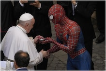 'Spiderman' Drops By at Vatican to Meet Pope, Cheer Up Hospitalized Children