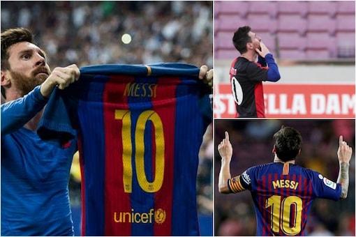 Seven iconic Lionel Messi moments (Reuters)