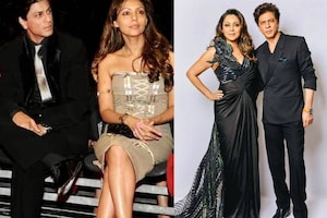 Gauri Khan Shares Throwback Photo With Shah Rukh Khan, Check Out Their Adorable Couple Pictures