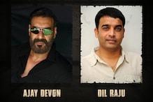 Ajay Devgn Announces Hindi Remake of Telugu Hit 'Naandhi' With Producer Dil Raju