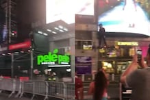 WATCH: Man Zips Through Times Square on Hoverboard, Twitter Hails Him 'Green Goblin'