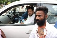 When Tejashwi Yadav Met Man With Lalu Yadav Tattoo on His Chest