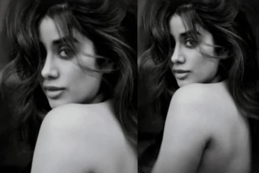 Janhvi Kapoor Flaunts Her Bare Back In New Monochrome Picture
