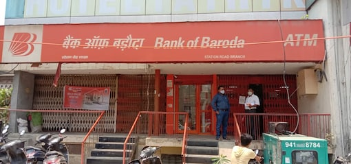 The Bank of Baroda branch in Bareilly where the incident took place.