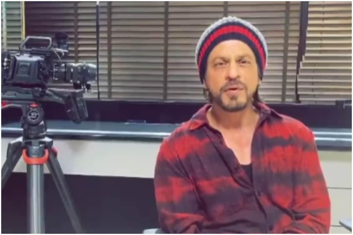 Shah Rukh Khan Drops A Selfie Informing Fans That He Is