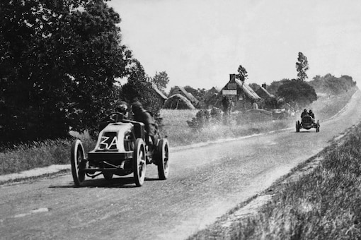 1906: 'The first-ever grand prix' (Twitter)