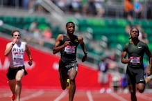Teenager Knighton Stuns World Champion Lyles in 200m US Olympic Trials