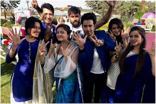 Vivian Dsena posted this on completion of 700th episode of Shakti: Astitva Ke Ehsaas Ki show. (Image: Instagram)