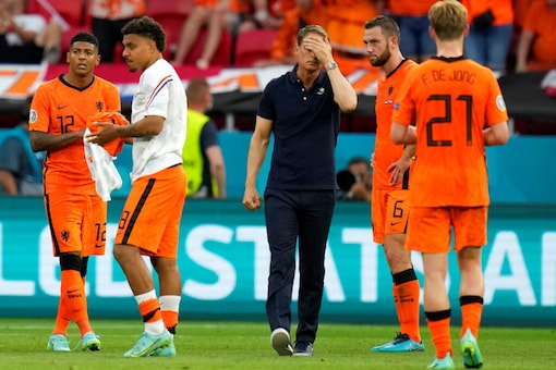Netherlands were knocked out of the Euro 2020 by Czech Republic (AP)