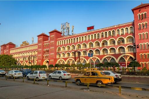 Howrah railway station, Kolkata.
