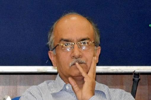 File photo of senior advocate Prashant Bhushan.