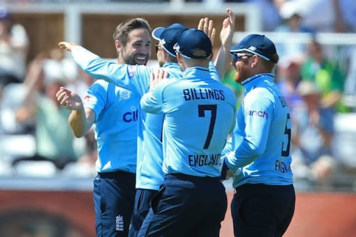 Chris Woakes finished with 4/18 (AFP Photo)