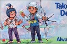 Amul Celebrates Archer Deepika Kumari's Epic Win With a Punny Doodle