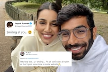 Jasprit Bumrah Trolled for 'Smiling' With Wife Sanjana Ganesan After WTC Final Loss
