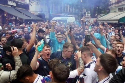 In Scotland, Nearly 2,000 Covid-19 Cases Linked To Euro 2020 Matches