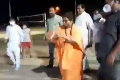 BJP MP Pragya Singh Thakur (Image: Twitter)