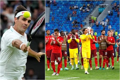 Roger Federer praised Switzerland's Euro 2020 campaign (AP)