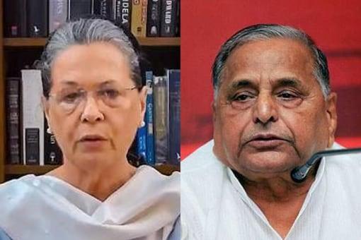 Sonia Gandhi, Mulayam Singh Yadav