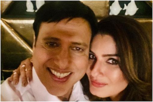 Govinda and Raveena Tandon